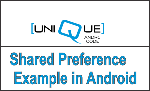 Shared Preference Example in Android Login Logout